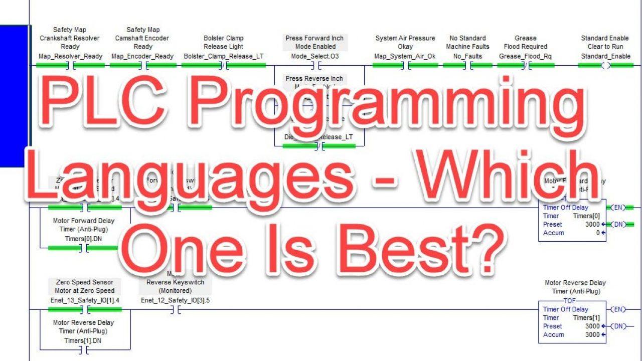 Plc Programming Languages Which One Is Best Plcgurus Net