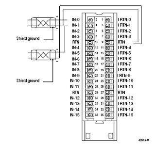 Analog Input Module Wiring