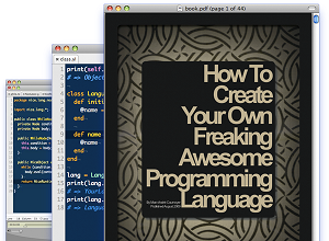 Learn to create your own programming language.